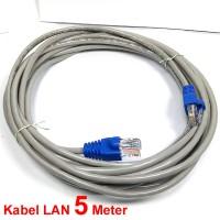 Kabel LAN 5 M Terpasag Konektor RJ45