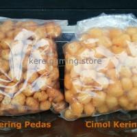 Jual Cimol Kering Pedas/Keju 1/4kg (250gr) Impor Dari Cimahi Murah