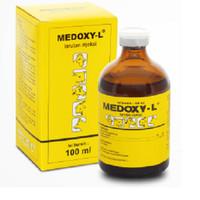 obat hewan MEDOXY L 100 ml larutan injeksi produksi medion