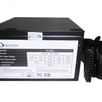 RAIDMAX RX-380K Power Supply 380 Watt - Black