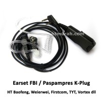 Earset Baofeng FBI Spiral