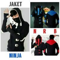 Jual Jaket Ninja Korea NRB/Jaket Fleece/Jaket Pria Korea/Jaket Keren Murah Murah