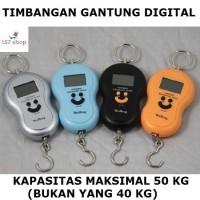 Jual Timbangan Gantung Digital Scale Portable Elektronik 50 Kg (Bukan 40Kg) Murah