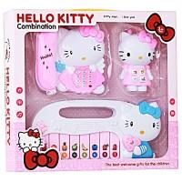 MAINAN PIANO TELEPON HELLO KITTY 3 IN 1 PLAYSET
