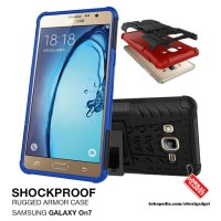 Armor Case Samsung Galaxy On7 On 7 Shockproof Hybrid Gel Soft & Hard