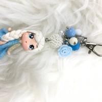 Jual Bagcharm Elsa Frozen Clay Doll Disney Princess Gantungan Tas Handmade Murah