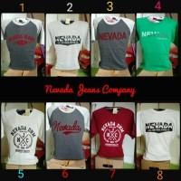 T Shirt Nevada Jeans Company Kaos Oblong Original