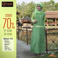Qirani Dewasa Melati 110 | Baju Perempuan Wanita Muslim Gamis Dress.