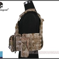 Emerson LBT6094A style Plate Carrier w 3 pouches aor1