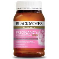 Jual Blackmores Pregnancy & Breastfeeding Gold 180 Capsules Murah