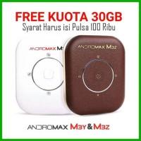 Jual Modem WiFi MiFi Smartfren Andromax M3Z 4G LTE (KUOTA 30GB) Murah