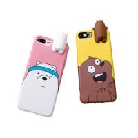 harga 3d Toys Bear Silicone Doll Soft Tpu Case Cover Iphone 6 6s Plus Tokopedia.com