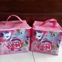 Jual goodie bag model kubus Little Pony Murah