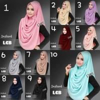 Hijab Instan / Pashmina Instan / Pastan / Segi Empat /  Jilbab Instan