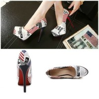 Jual sepatu highheels 21016 pump Shoes Wanita Import Murah Korea Fashion Murah