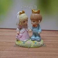 TOPPER KUE / WEDDING CAKE / PRECIOUS MOMENTS / PAJANGAN - 15CM PMW03