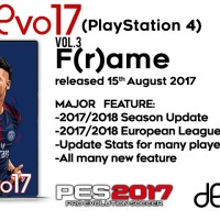 Jual Patch PES 2017 : ModEvo17(PlayStation 4) v.3 Murah