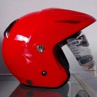 helm ink cx 22 merah basic dyr bukan kyt mds bogo nhk retro murah
