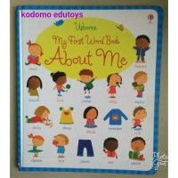 Usborne My First Word Book -- About Me,Buku Import Anak
