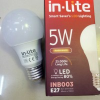 Led bohlam 5watt In-Lite
