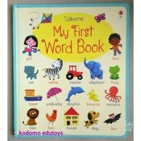 Usborne My First Word Book, Buku Import Anak