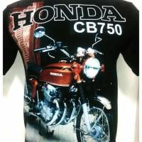 KAOS DISTRO FULL PRINT MOTOR HONDA CB 750