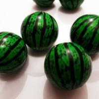 bola bekel gambar semangka - bouncing ball grosir