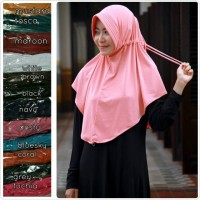 Jual Hijab / Jilbab Serut Polos Murah