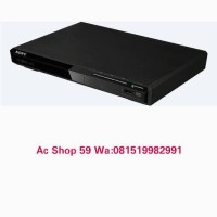 DVD PLAYER SONY DVP-SR370 DIGITAL VIDEO PHOTO DAN MUSIC