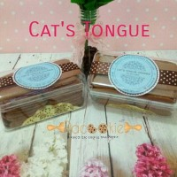 Jual Cat's Tongue / Kue Lidah Kucing Premium Murah