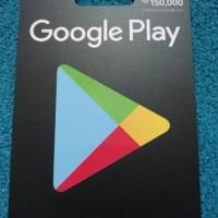 Voucher Google Play - Rp 150.000
