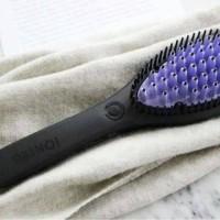 sisir catok Iontec Brush + free tas travel