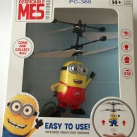 Jual Infrared Induction Minions/ Helikopter Minion Terbang Murah