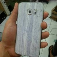 Skin Samsung S7 Flat Marmer Stone Texture 3M Original Japan