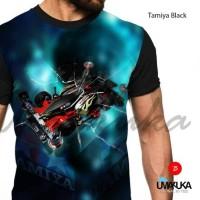 T-shirt / Kaos Full Print Umakuka - Tamiya Black