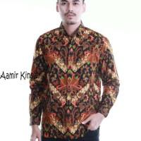 Kemeja Batik Pria Lengan Panjang / Batik Solo / Batik Keris