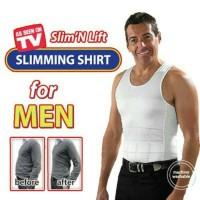 Slim N Lift For Man / Slim Lift Body Shaping For Man / Kaos Dalam Pria