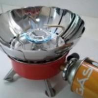 Jual Kompor camping windproof/camping stove/kompor portable Dhaulagiri B203 Murah