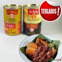 Jual Gudeg Kaleng Bu Tjitro (paket komplit 4 rasa) Murah