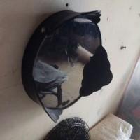 Tebok Plastik / Tatakan Kaki Kandang Lovebird Kapsul