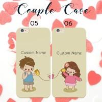 custom case couple termurah bisa semua hp oppo xiaomi iphone samsung