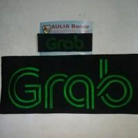 Bordir Logo Grab Bike - Depan Belakang