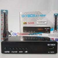 Receiver Parabola Skybox A1 NEW AVS + Dongle Wifi Evinix