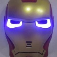 Jual Topeng Iron Man Nyala Lampu LED Limited Edition Mainan Anak Ba Murah