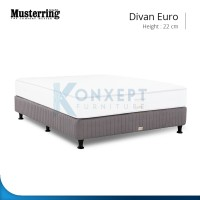 Divan Musterring Euro - 160x200 Springbed