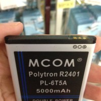 Baterai Polytron Rocket 2X R2401 PL-6T5A 5000Mah Double Power Mcom
