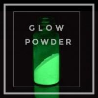 Bubuk Fosfor Paling Terang! Strontium Aluminate Lemon Green - 250um