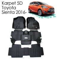 Karpet Mobil 5D Toyota Sienta 2016 - 3 baris