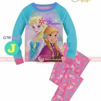 Harga a298 piyama baju tidur anak perempuan gw 209 j elsa anna frozen | antitipu.com
