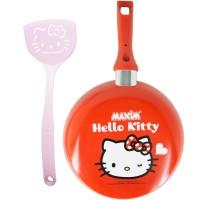 Jual New Maxim Frypan / Wajan Teflon Hello Kitty d:22cm Murah